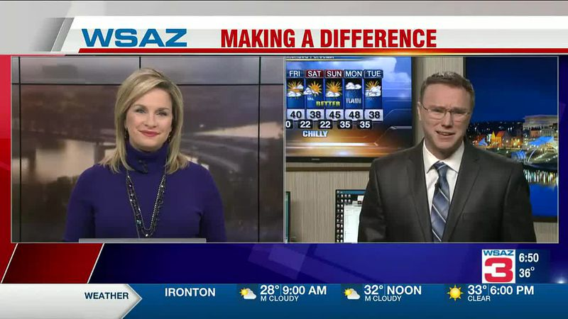Brandon Butcher Delivers the First Warning Forecast for Wednesday, January 20th, 2021.