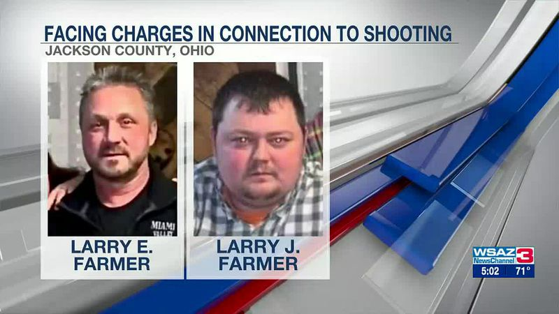 Father and son behind bars, facing charges in shooting