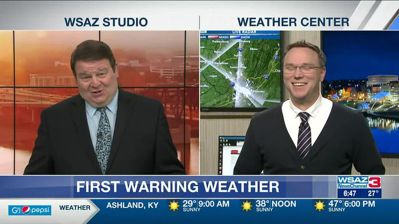 Brandon Butcher Delivers the First Warning Forecast for Friday, April 2nd, 2021.