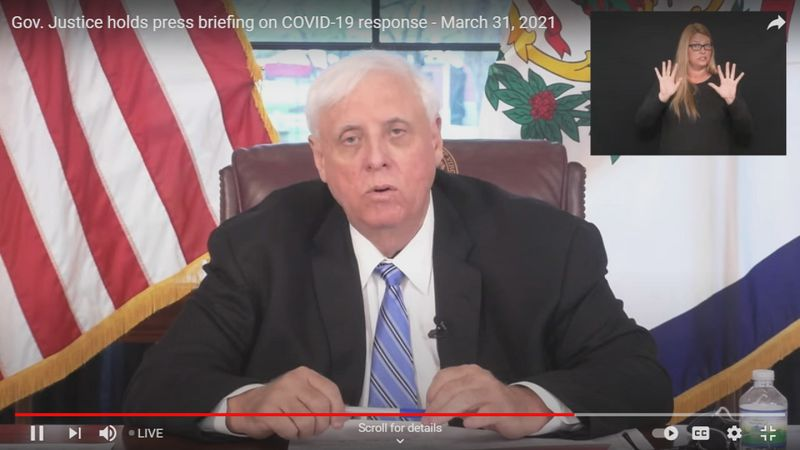 The move comes after Gov. Justice released the state's investigation on unreported...