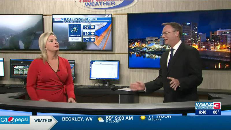 Brandon Butcher Delivers the First Warning Forecast for Wednesday, July 21st, 2021.