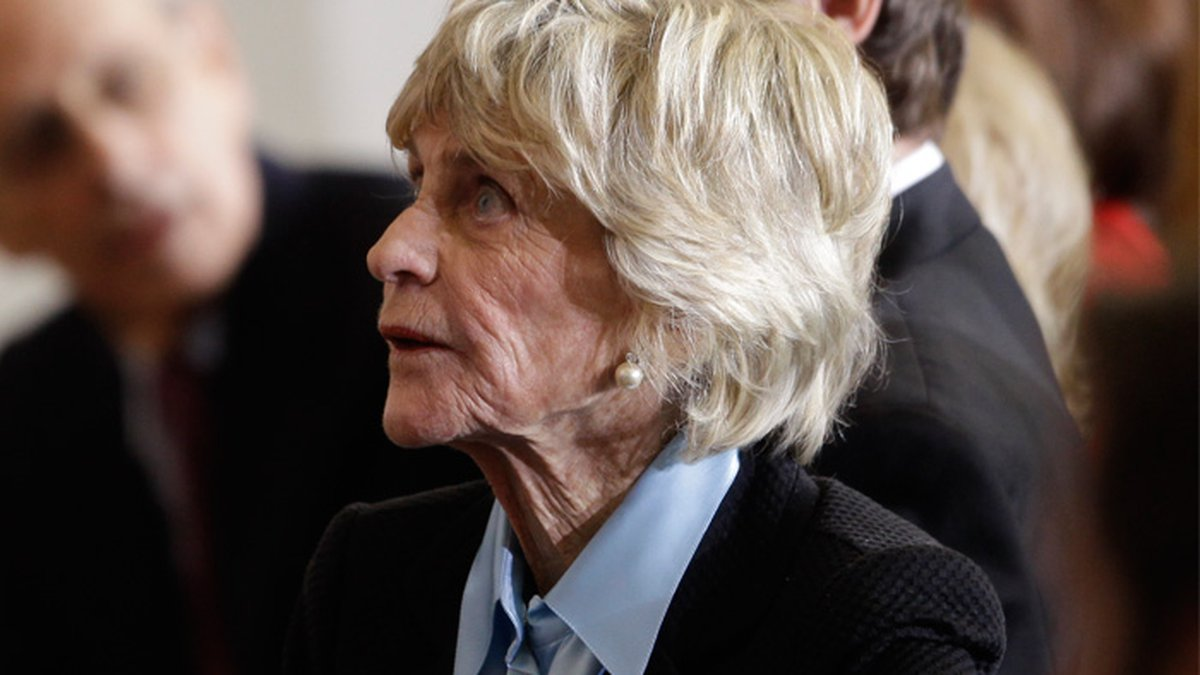 Jean Kennedy Smith is pictured at a ceremony marking the 50th aniversary of President John F....