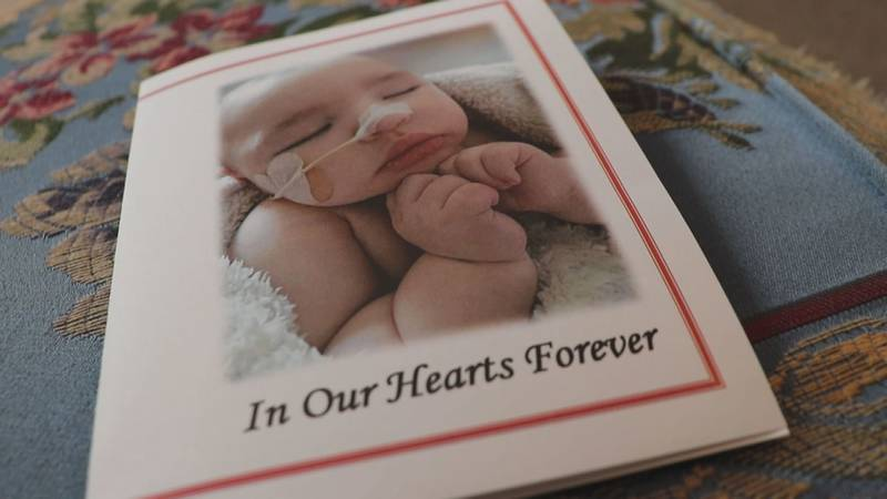 Funeral held for 11-month-old baby who died on Sept. 9th.