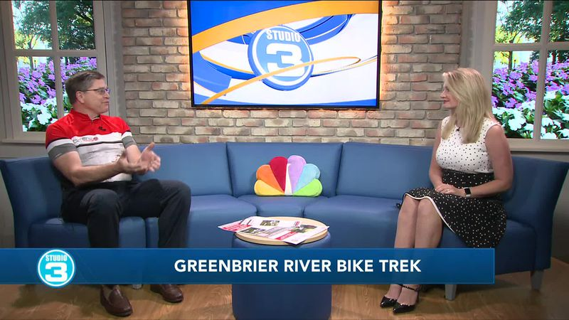 The chairman of the Greenbrier River Bike Trail Trek, Chuck Johnson, sat down to explain the...