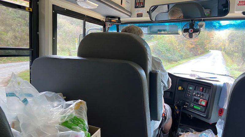 Kanawha County bus drivers are taking on more than their average load during the pandemic.