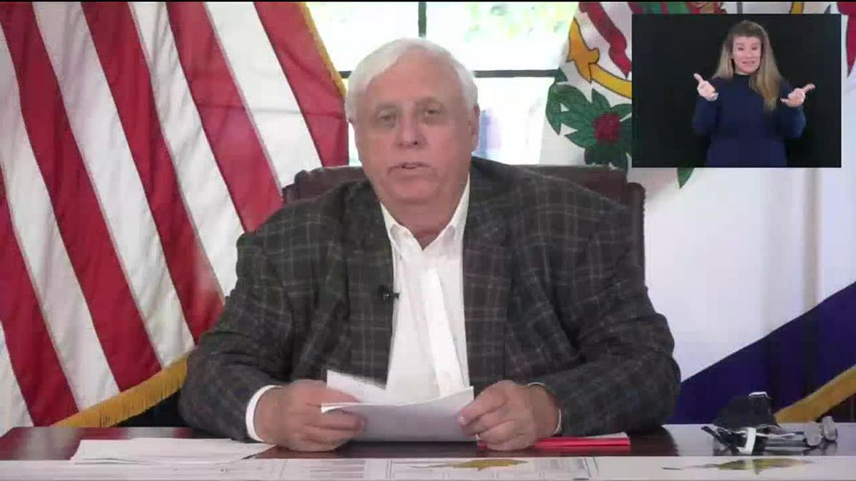 Governor Justice issues mask mandate