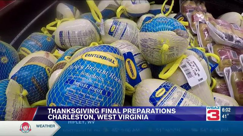 Final day for Thanksgiving preparations