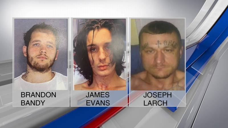 Three suspects are in custody after an officer-involved shooting and pursuit Tuesday afternoon...