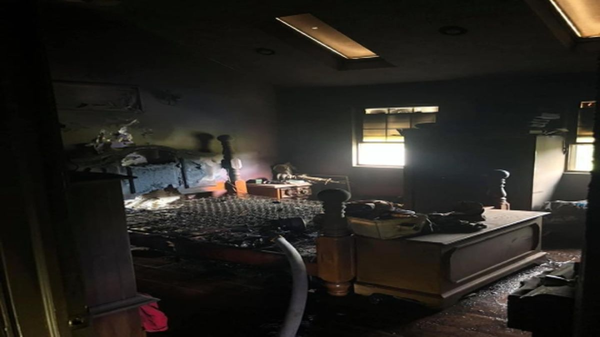 An overheated phone charger is to blame for a fire at a home in Lawrence County, Ohio Thursday afternoon.