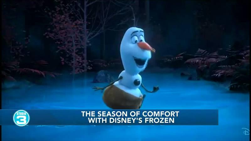 The Season of Comfort with Disney's Frozen