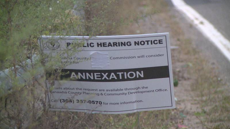 The town hopes to annex the land that will be the new Clendenin Elementary School.