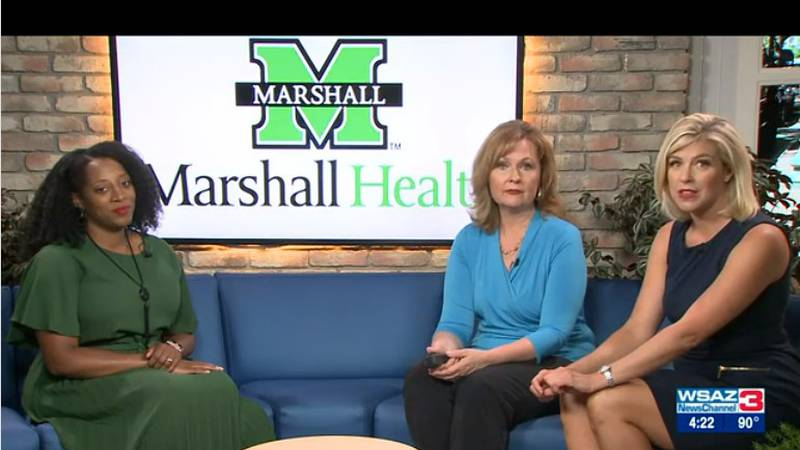 Ashley Shaw, Director of the Marshall Health CORE Program, shares some of the resources offered...