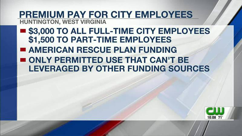 City proposes giving premium pay to city workers