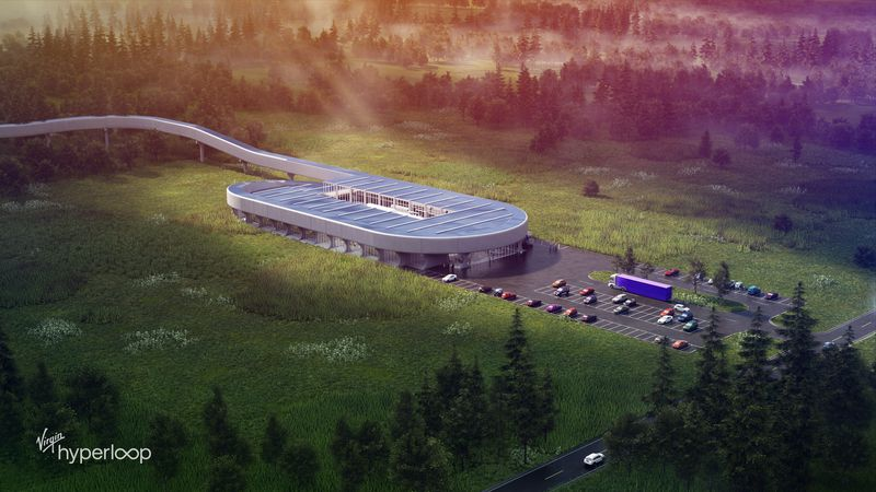 Officials at Virgin Hyperloop say construction on the certification center to be built in...
