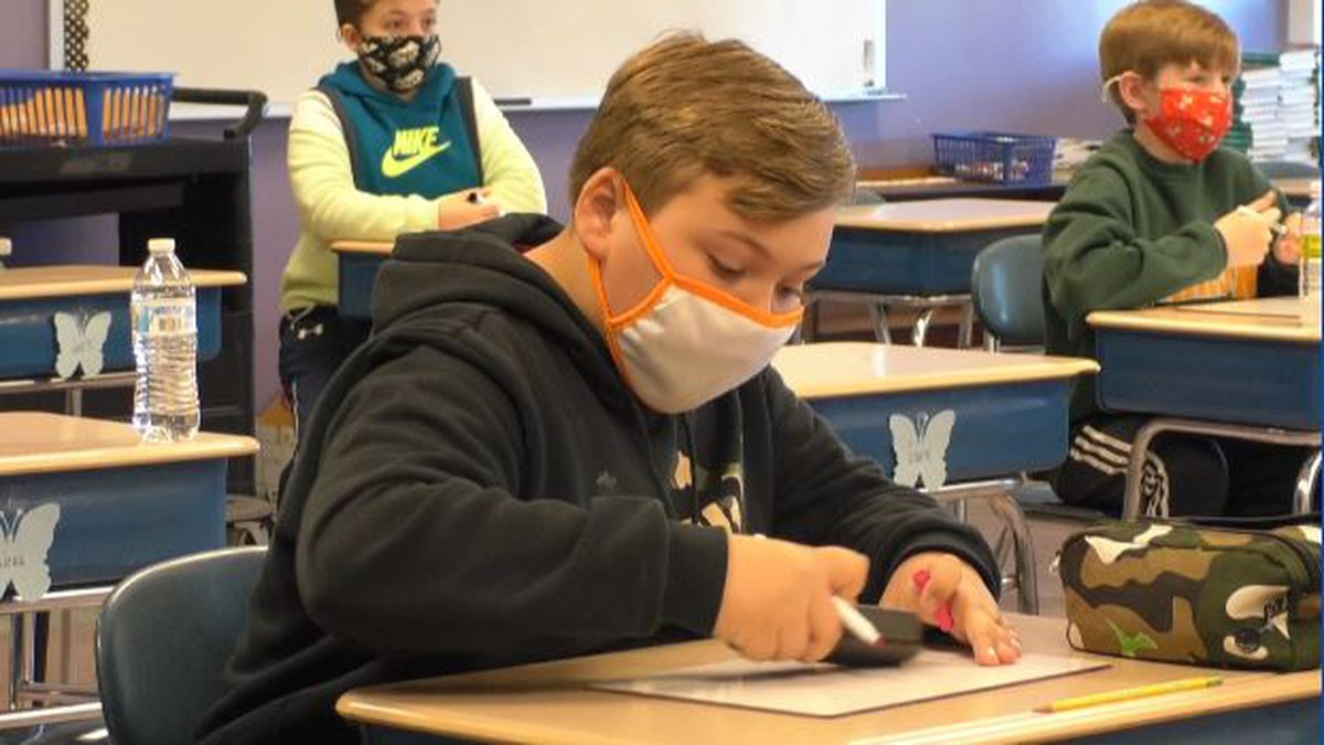 Students and staff at Jackson City Schools in Ohio will be required to wear masks when they...