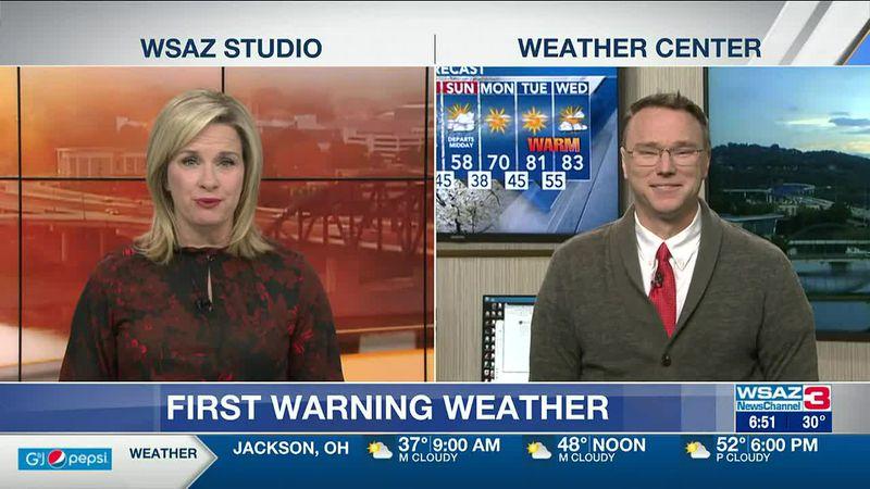 Brandon Butcher Delivers the First Warning Forecast for Thursday, April 22nd, 2021.