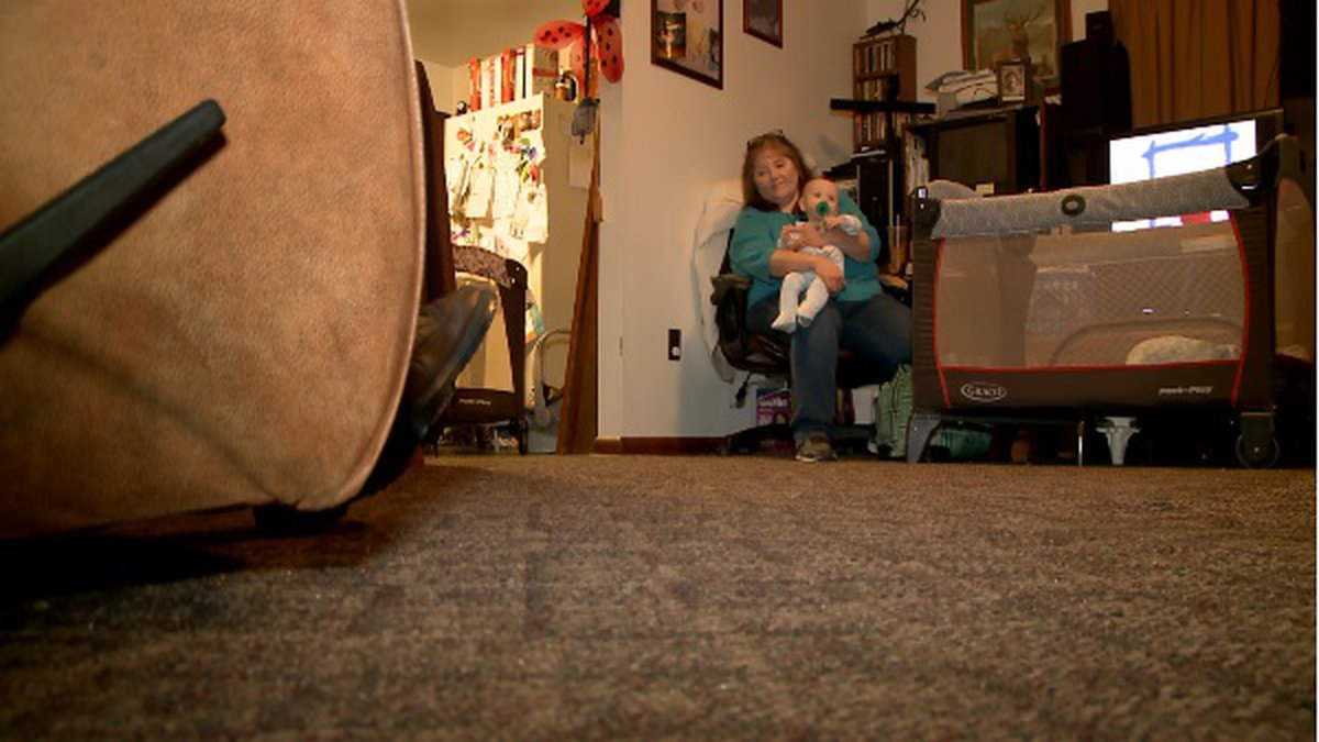 Kim Carter, a recipient of Big Sandy Superstore's 'Homes of Hope' giveaway, is retired from her...