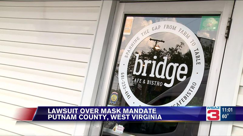 Putnam County restaurant files lawsuit over mask mandate.