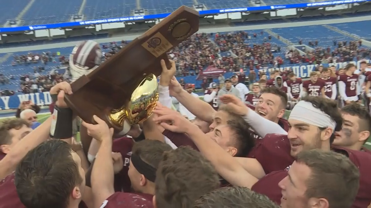 Pikeville is ranked #1 in the first KY high school football poll.