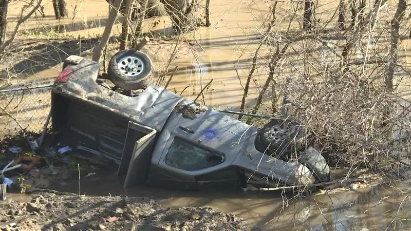 Slip causes damage in Paintsville, Ky