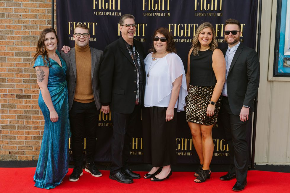 Photos from the premier of 'A Father's Fight'