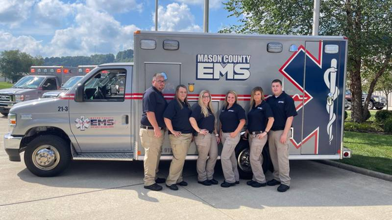 Mason County EMS purchased four brand new, top of the line, ambulances' Friday afternoon.