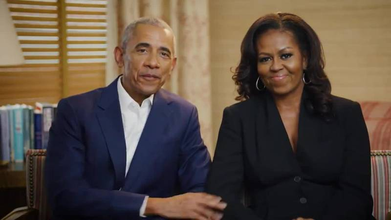 The Obamas will be at a groundbreaking for the Obama Presidential Center in Chicago.