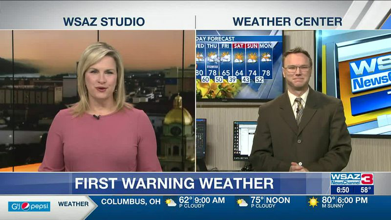 Brandon Butcher Delivers the First Warning Forecast for Tuesday, April 27th, 2021.