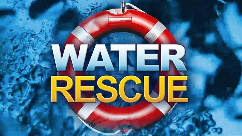 Boone County 911 Dispatchers say a water rescue team is on its way to try to rescue a person...