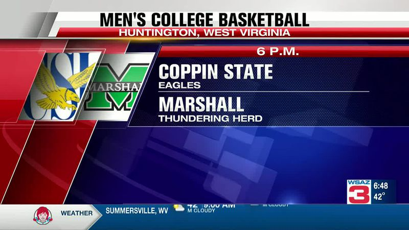 Herd men's hoops opens season Wednesday night