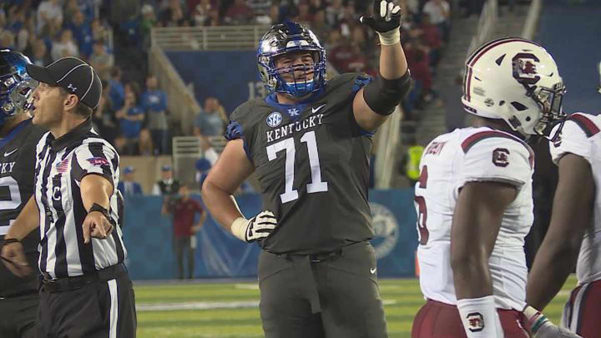 UK's Logan Stenberg selected by Detroit Lions In NFL Draft