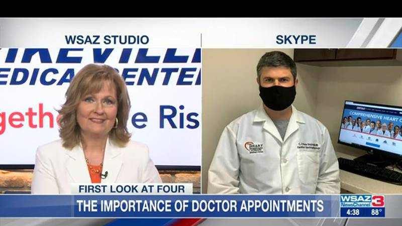 Dr. Chase Reynolds from Pikeville Medical center shares the importance of those doctor...