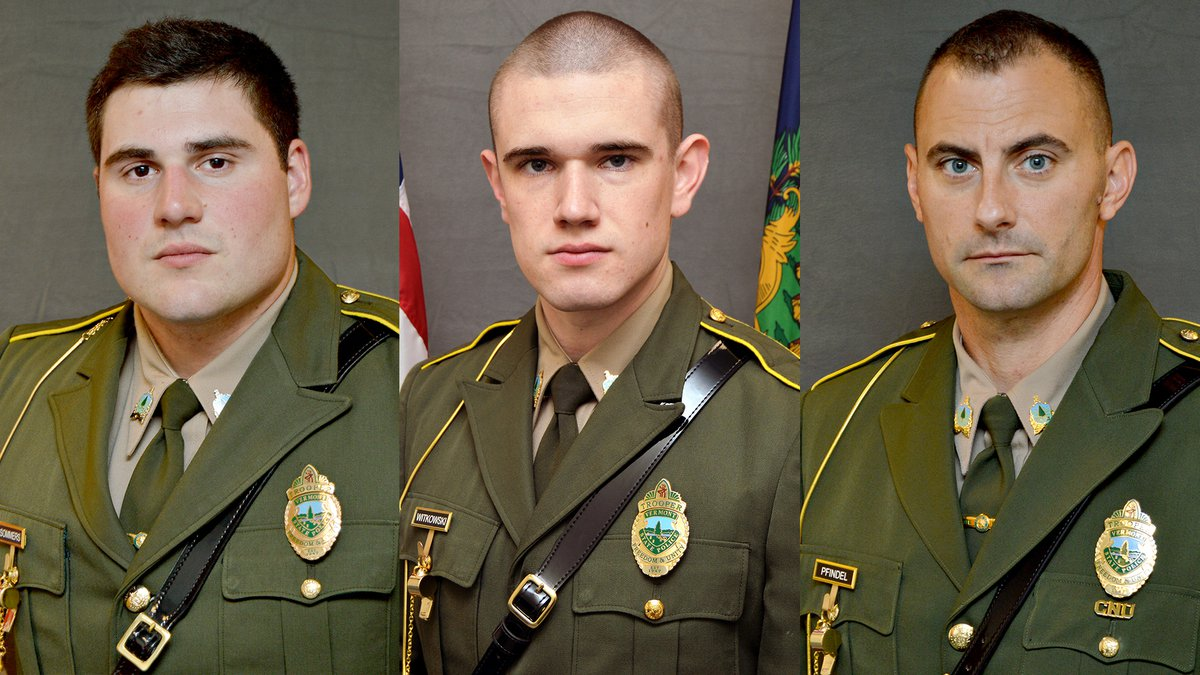 Vermont troopers Shawn Sommers, Raymond Witkowski and David Pfindel have resigned in connection...