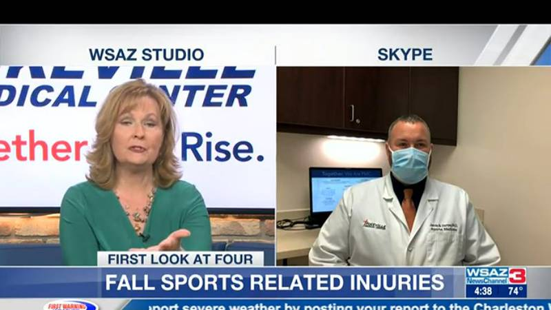 Dr. Jamie Varney from Pikeville Medical Center share some of the common injuries from fall...