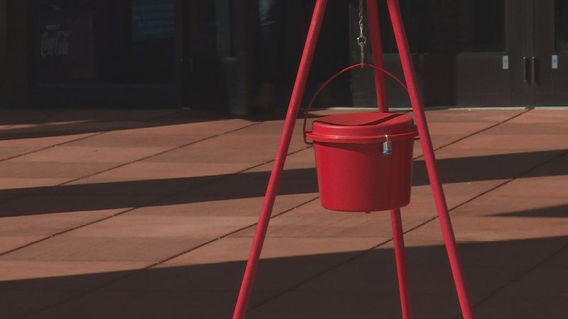 The Salvation Army's red kettle season is back for the holiday season.