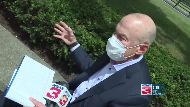 Dr. Clay Marsh, West Virginia's coronavirus czar, talks with Amanda Barren about the West...