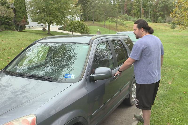 Alan Parsons said his unlocked car was broken into this week as part of a string of thefts in...