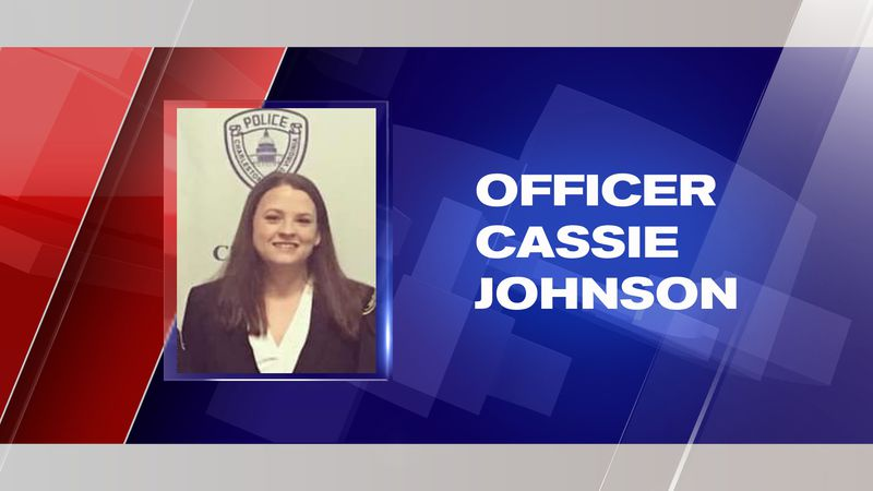 Charleston Police Department Officer Cassie Johnson was shot Tuesday while responding to a...