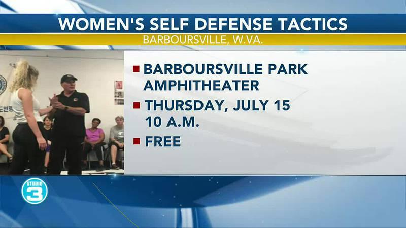 Women's self defense tactics