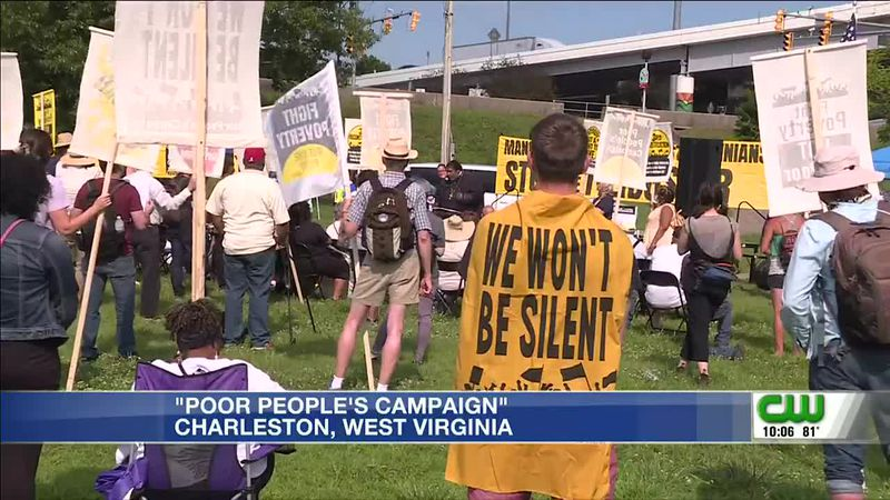 Protesters push Manchin for voting reform, min. wage increase