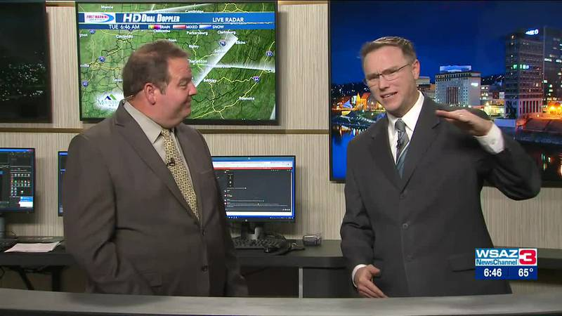 Brandon Butcher Delivers the First Warning Forecast for Tuesday, October 12th, 2021.