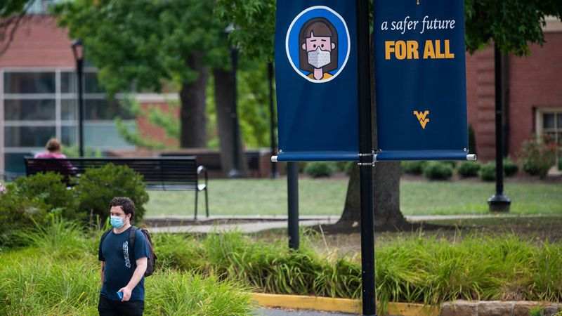 West Virginia University officials processed 127 new cases of COVID-19 among students at its...