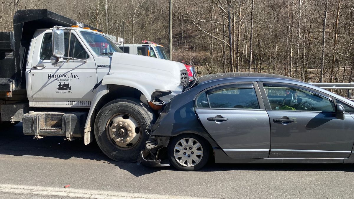 The accident happened Friday afternoon.