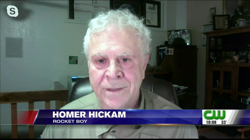 West Virginia author Homer Hickam spoke with Amanda Barren about how his works helped inspire a...