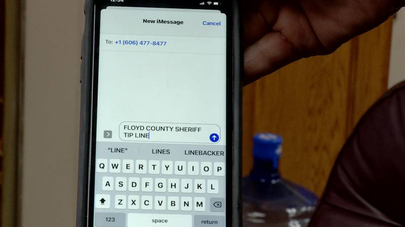 Floyd County Sheriff launches text tip line