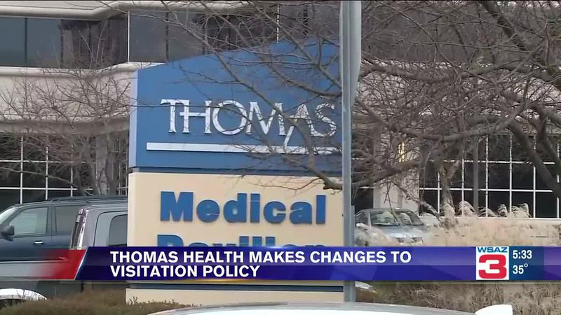 Thomas Health makes changes to visitation policy