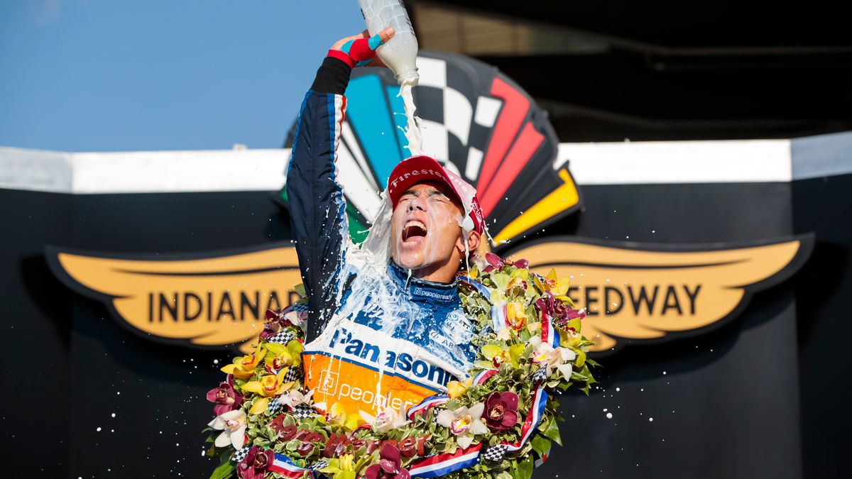 Sato wins his second Indy 500.