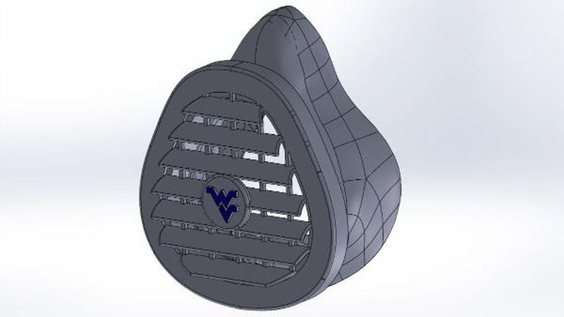 The West Virginia Mask is designed to have the same capabilities as a N95 mask but is reusable.