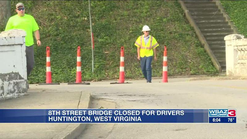8th Street bridge closes during renovation project
